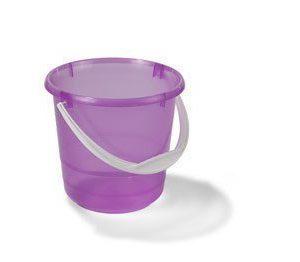 Nordiska Plast Muoviämpäri Transparant/Rosa 5L