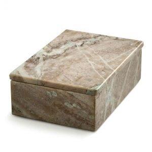 Nordstjerne Brown Marble Säilytyslaatikko Large Ruskea