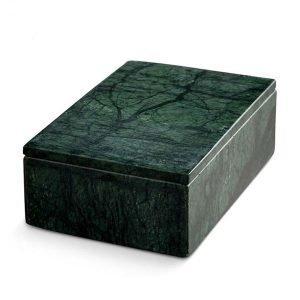 Nordstjerne Green Marble Säilytyslaatikko Large Vihreä