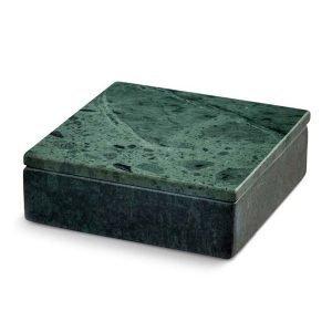Nordstjerne Green Marble Säilytyslaatikko Small Vihreä
