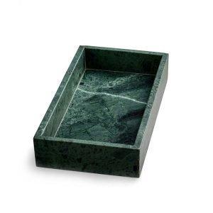 Nordstjerne Green Marble Suorakulmainen Vati Vihreä