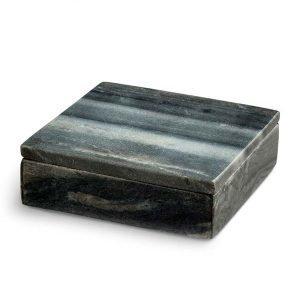 Nordstjerne Grey Marble Säilytyslaatikko Small Harmaa