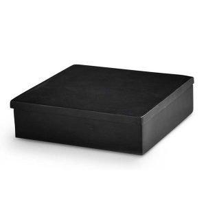 Nordstjerne Soap Stone Säilytyslaatikko Small Musta
