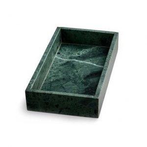 Nordstjerne Vihreä Marmoritarjotin reunalla 30 x 15 cm