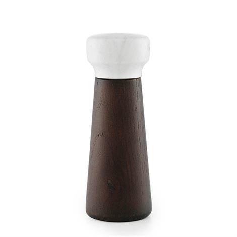 Normann Copenhagen Craft Suolamylly Musta Tammi-Valkoinen Marmori Pieni