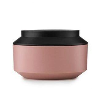 Normann Copenhagen Geo Purkki kannella vaaleanpunainen/musta Ø 15 cm