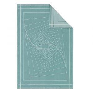 Normann Copenhagen Illusion Keittiöpyyhe Turkoosi 75x50 Cm