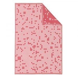 Normann Copenhagen Illusion Keittiöpyyhe Vaaleanpunainen 75x50 Cm