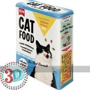 Nostalgic Art Peltipurkki 3d Cat Food 4 L