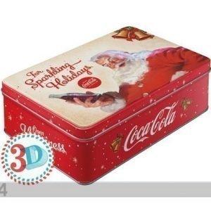 Nostalgic Art Peltipurkki 3d Coca-Cola For Sparkling Holidays 2