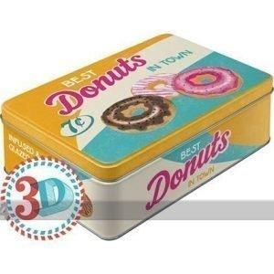 Nostalgic Art Peltipurkki Best Donuts In Town 2