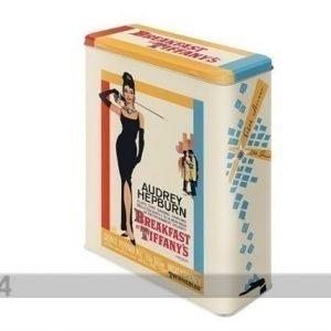Nostalgic Art Peltipurkki Breakfest At Tiffany'S Audrey Hepburn 4 L