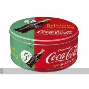 Nostalgic Art Peltipurkki Coca-Cola Delicious Refreshing 3