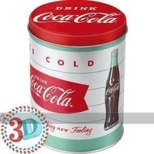 Nostalgic Art Peltipurkki Coca-Cola Ice Cold 1l