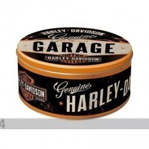 Nostalgic Art Peltipurkki Harley-Davidson Garage 3