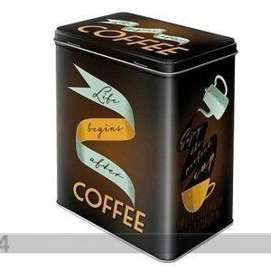 Nostalgic Art Peltipurkki Life Begins After Coffee 3 L