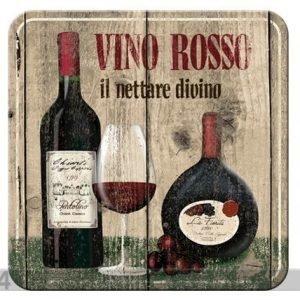 Nostalgic Art Retro Lasinalusta Vino Rosso 4 Kpl