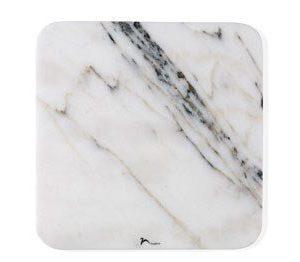Nuance Tarjoiluvati30x30x1 valkoista marmoria