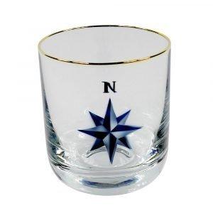 Nybro Crystal Crystal Ink Whiskey Glass
