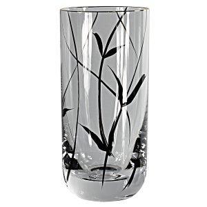 Nybro Crystal Simply Black Longdrink Lasi Musta 36 Cl