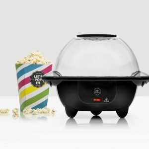 Obh Nordica Big Popper Popcorn Kone Musta