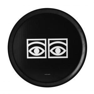 Olle Eksell Ögon Cacao Black Eyes Tarjotin Musta 38 Cm