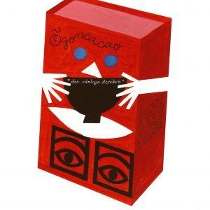 Olle Eksell Red Box Juliste Punainen 50x70 Cm