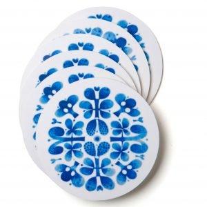 Opto Design Blues Lasinalunen Sininen 10 Cm 6 Kpl