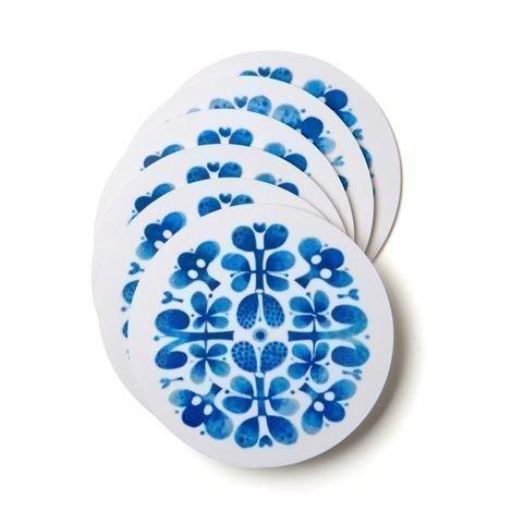 Opto Design Blues Lasinalusta 6 kpl