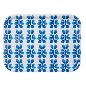 Opto Design Blues Tarjotin Sininen / Valkoinen 27x20 Cm