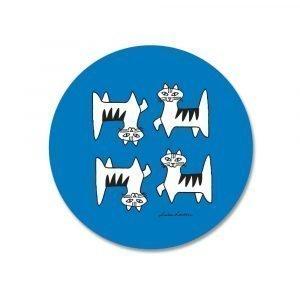 Opto Design Cat Felix Pannunalunen Sininen 21 Cm