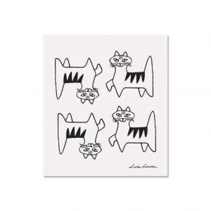 Opto Design Cat Felix Tiskirätti Valkoinen