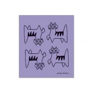 Opto Design Cat Felix Tiskirätti Violetti