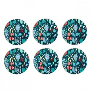 Opto Design Herbarium 1 Lasinalunen Sininen 10 Cm 6 Kpl