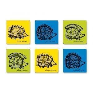 Opto Design Iggy Piggy Punky Lasinalunen 6-Pakkaus