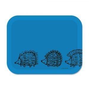 Opto Design Iggy Piggy Punky Tarjotin Sininen 36x28 Cm