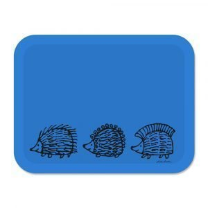 Opto Design Iggy Piggy Punky Tarjotin Sininen 43x33 Cm