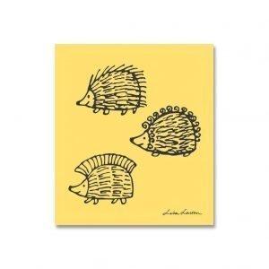 Opto Design Iggy Piggy Punky Tiskirätti Keltainen