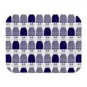 Opto Design Mimi Tarjotin Sininen / Valkoinen 43x33 Cm
