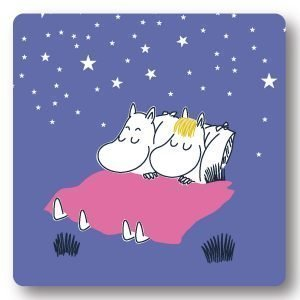 Opto Design Moomin Goodnight Alunen Sininen