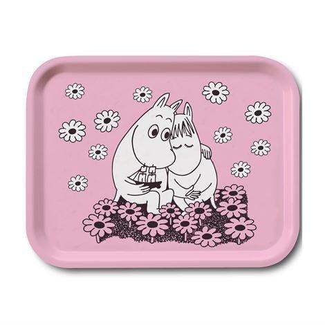 Opto Design Moomin Love Tarjotin 27x20 cm