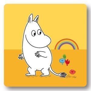 Opto Design Moomin Rainbow Alunen Keltainen