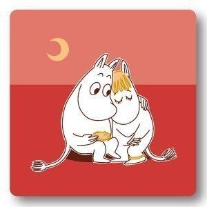 Opto Design Moomin Sunset Love Alunen Punainen