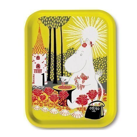Opto Design Moomin Sunshine Tarjotin 27x20 cm