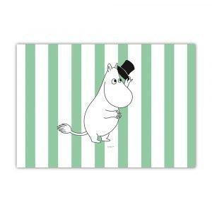 Opto Design Muumi Pöytätabletti Moominpapa Stripe Vihreä