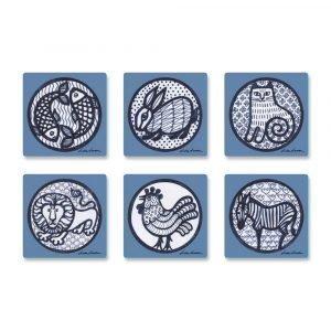 Opto Design Pattern Nina Lasinalunen 6-Pakkaus