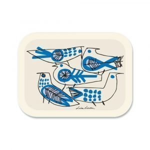 Opto Design Retro Birds Tarjotin 27x20 Cm