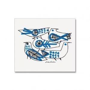 Opto Design Retro Birds Tiskirätti