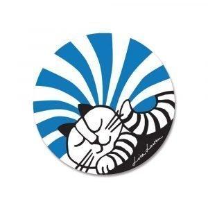 Opto Design Rudolf Pannunalunen Sininen / Valkoinen 21 Cm