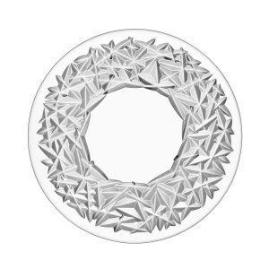 Orrefors Carat Kakkuvati Kristalli